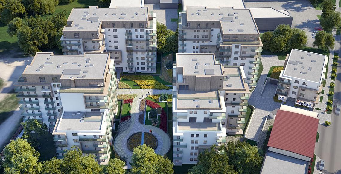 Mieszkania w Krakowie - Cystersów Garden